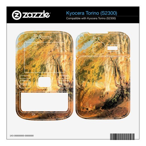 Joseph Mallord Turner - Beech woods with Gypsies 2 Decals For Kyocera Torino