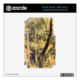 Joseph Mallord Turner - Birch woods with Gypsies iPod Touch 4G Skins