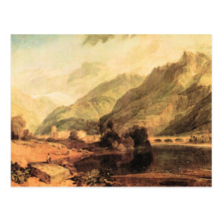 Joseph Mallord Turner - Bonneville Savoy with Mont Post Cards
