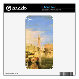 Joseph Mallord Turner - Bridge of Sighs - Venice iPhone 4S Skin