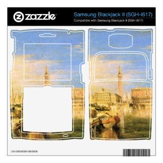 Joseph Mallord Turner - Bridge of Sighs - Venice Samsung Blackjack II Skin