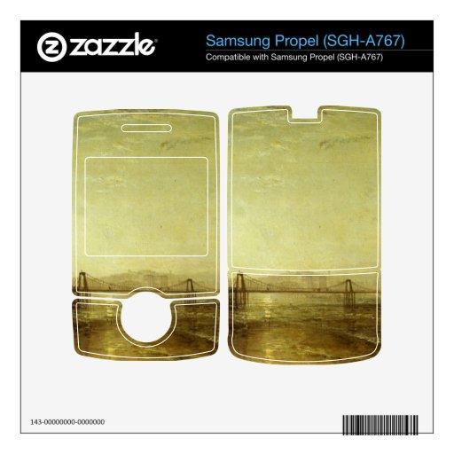 Joseph Mallord Turner - Brighton from the sea Skin For Samsung Propel