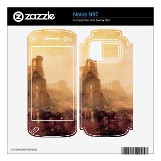 Joseph Mallord Turner - Caligulas Palace and Bridg Decals For The Nokia N97