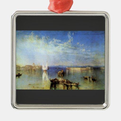 Joseph Mallord Turner - Campo Santo Venice Christmas Tree Ornament