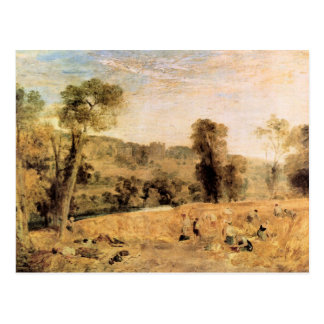 Joseph Mallord Turner - Cassiobury Park - Harvest Postcard
