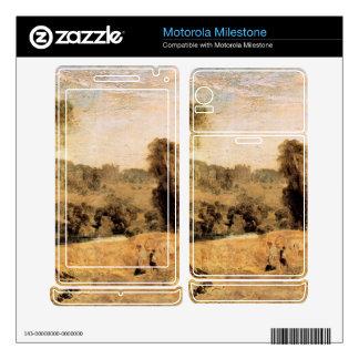 Joseph Mallord Turner - Cassiobury Park - Harvest Motorola Milestone Skin