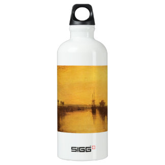 Joseph Mallord Turner - Chichester Canal Aluminum Water Bottle