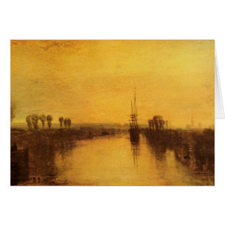 Joseph Mallord Turner - Chichester Canal Card