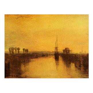Joseph Mallord Turner - Chichester Canal Postcard