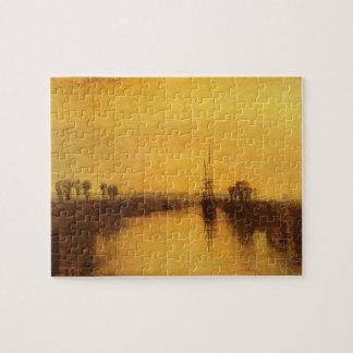 Joseph Mallord Turner - Chichester Canal Puzzle
