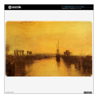 Joseph Mallord Turner - Chichester Canal Skin For The MacBook Air