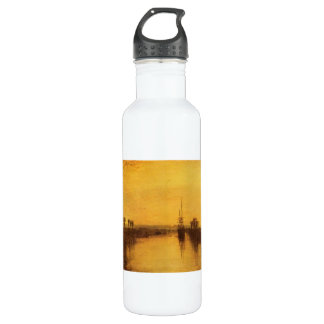 Joseph Mallord Turner - Chichester Canal Stainless Steel Water Bottle