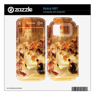 Joseph Mallord Turner - Christ driving the traders Skins For The Nokia N97