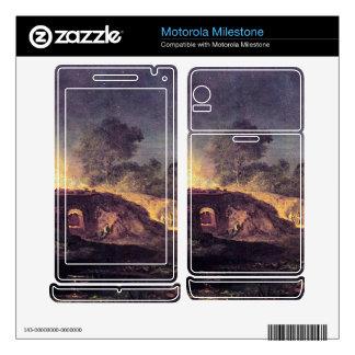 Joseph Mallord Turner - Coalbrookdale Motorola Milestone Skin