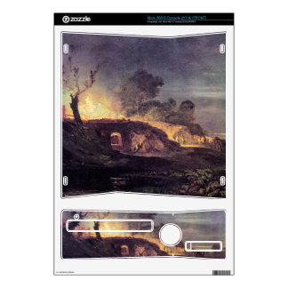 Joseph Mallord Turner - Coalbrookdale Xbox 360 S Skin