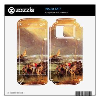 Joseph Mallord Turner - Coastal scene with fisherm Nokia N97 Skin
