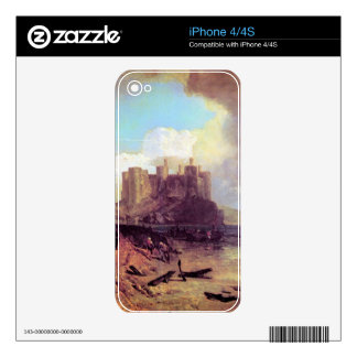 Joseph Mallord Turner - Conway Castle Decal For iPhone 4S