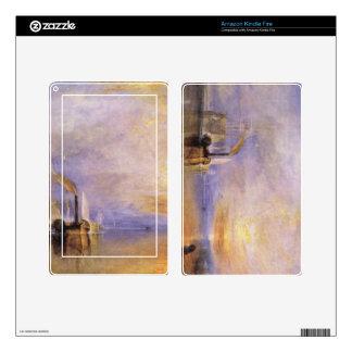 Joseph Mallord Turner - Deception Kindle Fire Skin