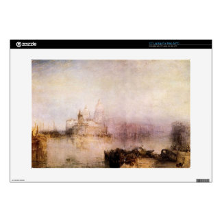 Joseph Mallord Turner - Dogana and Santa Maria in Laptop Decals