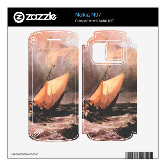 Joseph Mallord Turner - Dutch boats in a squall Skins For Nokia N97