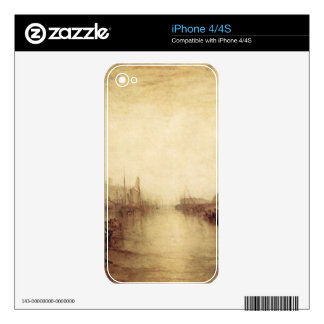 Joseph Mallord Turner - East Cowes Castle Decal For The iPhone 4S