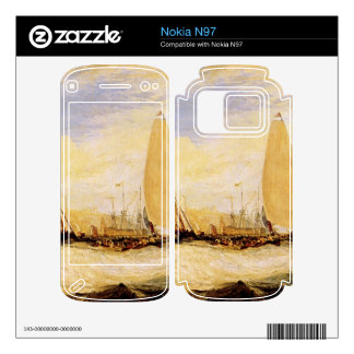 Joseph Mallord Turner - East Cowes Castle Regatta Decals For The Nokia N97