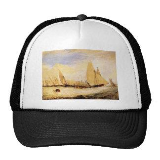 Joseph Mallord Turner - East Cowes Castle Regatta Trucker Hat