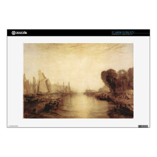 Joseph Mallord Turner - East Cowes Castle Decal For Laptop