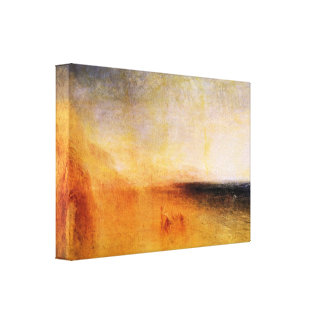 Joseph Mallord Turner - Europa and the bull Gallery Wrapped Canvas