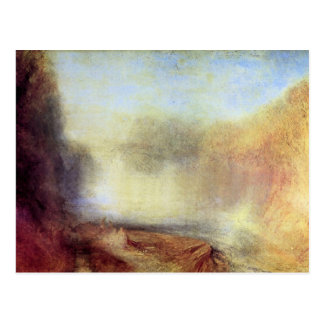 Joseph Mallord Turner - Falls of the Clyde Postcard