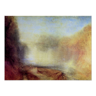 Joseph Mallord Turner - Falls of the Clyde Poster
