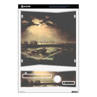 Joseph Mallord Turner - Fisherman at sea Decal For Xbox 360 S