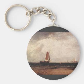 Joseph Mallord Turner - Fishing on the Blythe-Sand Key Chain