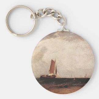Joseph Mallord Turner - Fishing on the Blythe-Sand Keychain
