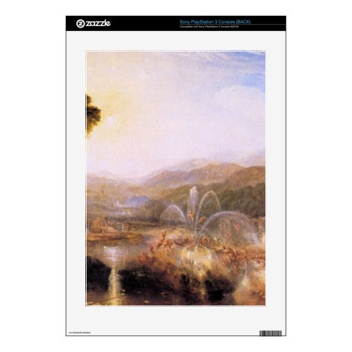 Joseph Mallord Turner - Fountain of indolence Decal For The PS3