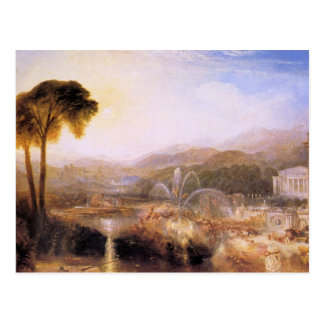 Joseph Mallord Turner - Fountain of indolence Postcard