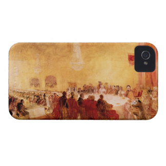 Joseph Mallord Turner - George IV at banquet in Ed Case-Mate iPhone 4 Case