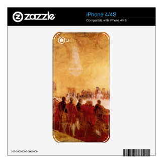 Joseph Mallord Turner - George IV at banquet in Ed Decals For The iPhone 4S