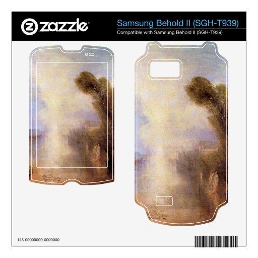 Joseph Mallord Turner - Girls bathing in moonlight Samsung Behold II Decal