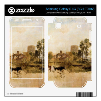 Joseph Mallord Turner - Goring Mill and church Samsung Galaxy S 4G Skin