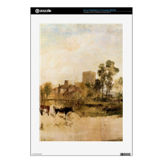 Joseph Mallord Turner - Goring Mill and church Skin For PS3