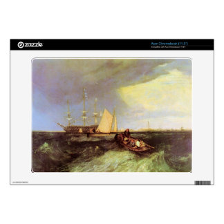 Joseph Mallord Turner - Guardship at the great Nor Skins For Acer Chromebook