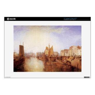 Joseph Mallord Turner - Harbor of Dieppe Laptop Skin