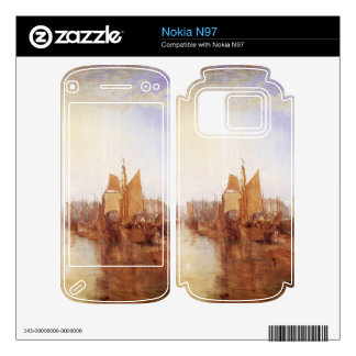 Joseph Mallord Turner - Harbor of Dieppe Decals For The Nokia N97