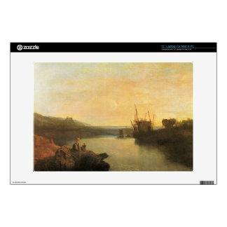 """Joseph Mallord Turner - Harlech Castle 13"""" Laptop Skin"""