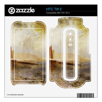 Joseph Mallord Turner - Hastings Decal For The HTC Tilt 2
