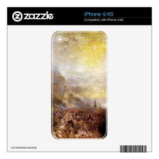 Joseph Mallord Turner - Heidelberg Decal For iPhone 4