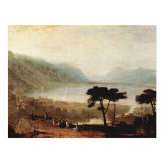 Joseph Mallord Turner - Lake Geneva in Montreux Postcard
