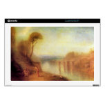 """Joseph Mallord Turner - Landscape with a woman wit Decals For 17"""" Laptops"""