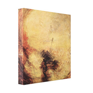 Joseph Mallord Turner - Light and Color Canvas Print